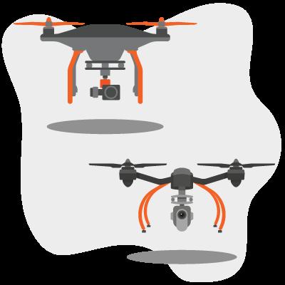 Drone-Cameras